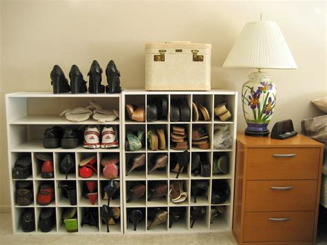 Shoes Organizers : Closet Shoe Rack Design