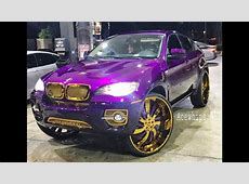 AceWhipsNET Candy Purple BMW X6 on Gold 30
