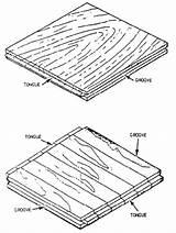 Flooring End Matched Wood Fir Drawing Douglas Plank Hardwood Match Floor Block Parquet Laminated Slab Benefits Getdrawings Existing sketch template