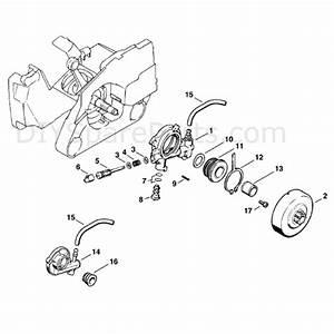 stihl ms 260 chainsaw ms260 parts diagram oil pump With stihl fuel pump