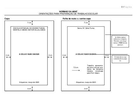 sistema para formatação de trabalhos nas normas abnt normas da abnt para trabalhos escolares modelos para