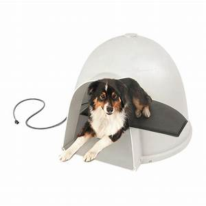 Amazoncom kh manufacturing lectro kennel igloo style for Dog bed igloo style