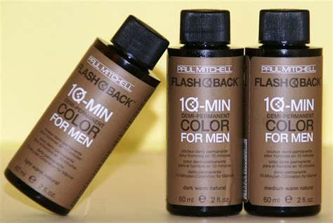 Paul Mitchell 10 Minute Haircolor For Men, 9 Shades, 10