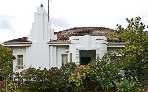 art deco house melbourne sandra cohen rose  colin