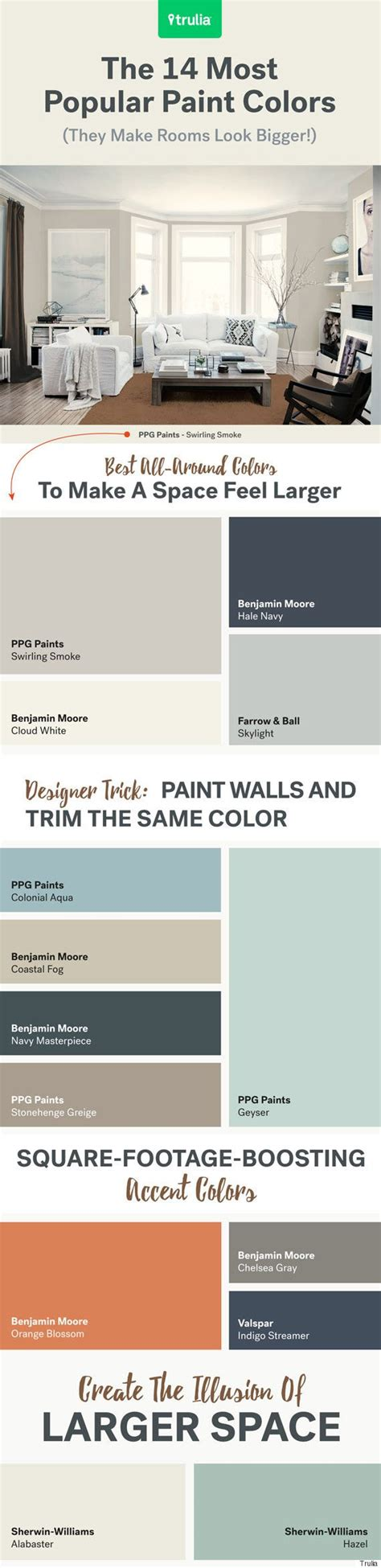 colors that make a room look bigger salle 224 manger 14 paint colors that will make a room