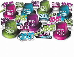 2020 Bright Color New Year's Eve Party Kit
