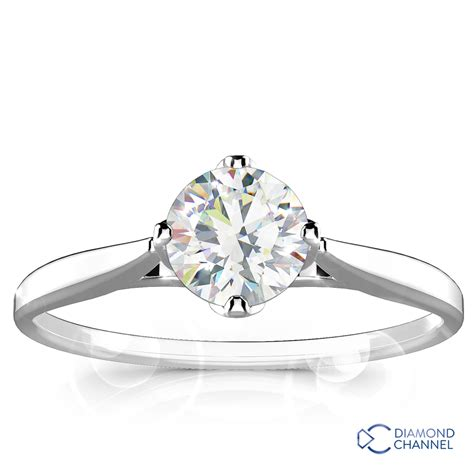 classic solitaire engagement ring 0 50ct tw the channel johannesburg