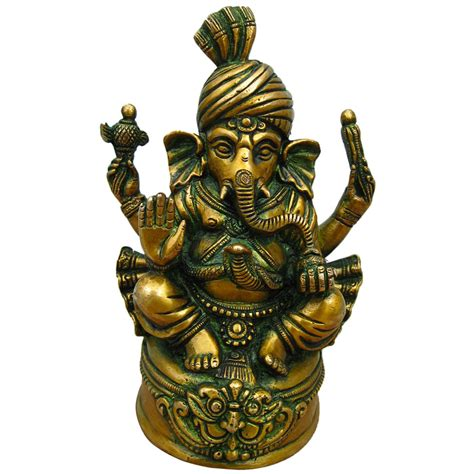 ganesh hindubrass ganesh idols Brass statues