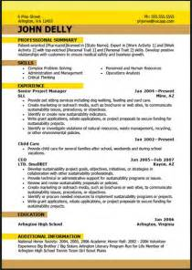 best resume exles pdf sle resume format best resume format pdf