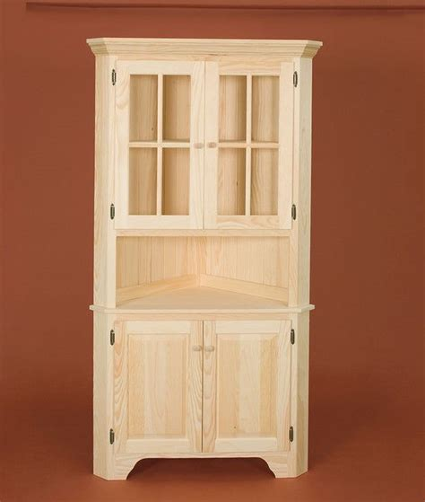 unfinished furniture hutch the 25 best unfinished pine furniture ideas on