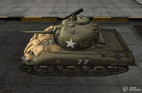 remodel m4 sherman for world of tanks