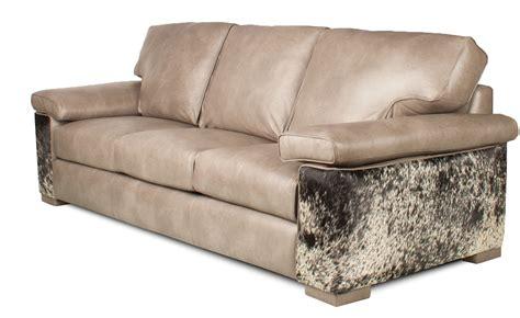 Couture Custom Leather Sofa