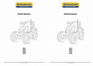 New Holland T8010 T8020 T8030 T8040 T8050 Tractor 2007