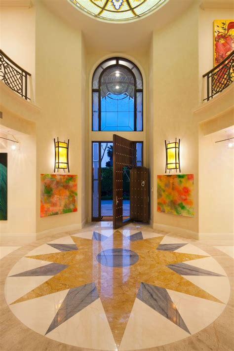 uplifting mediterranean entry hall designs