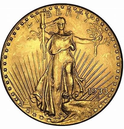 Dollar Gold Twenty Gaudens St Coin Coins