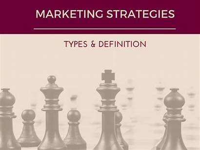 Marketing Types Strategies Definition Management Project