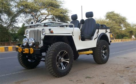 jeep open top modified open jeeps of india