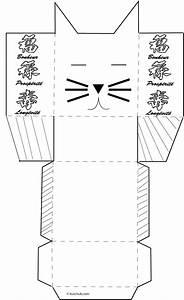 Fabriquer Un Personnage En Carton : fabriquer une boite chat en carton l ger pour mettre l ~ Zukunftsfamilie.com Idées de Décoration