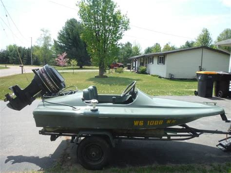 Invader Mini Boat by Gw Invader 10 Ft Mini Speed Boat Trailer Included 1000