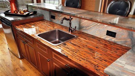 Kitchen Countertop Tiles Ideas - cost effective countertop ideas crushed glass countertop epoxy copper countertop epoxy