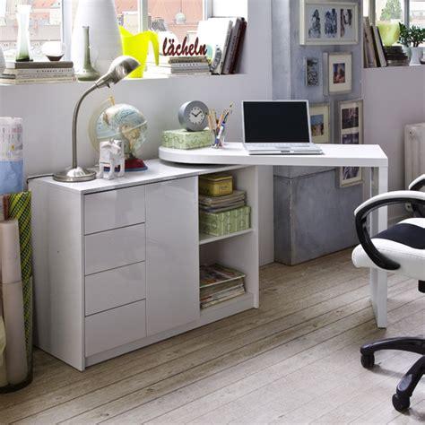 black gloss corner computer desk matt swivelling computer desk in high gloss white