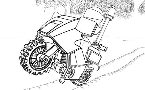 39+ Lego Car Coloring Pages PNG
