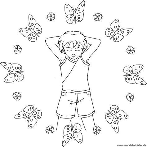 kindermandala voller ruhe und entspannung zum gratis