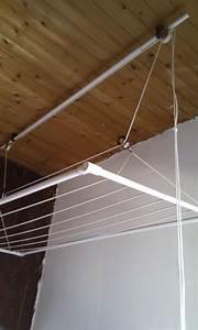étendoir à Linge Intérieur : etendoir linge plafond ~ Premium-room.com Idées de Décoration