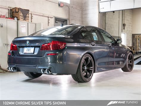 Bmw M5 Exhaust by Awe Tuning Bmw F10 M5 Touring Edition Exhaust Clp Tuning