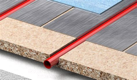 Econna Joisted System   Underfloor Heating between Joists