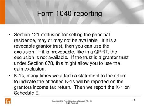 Section 678 Trust - accountants guide to grantor trusts 111714