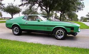 Grabber Green 1971 Mach 1 Ford Mustang Fastback - MustangAttitude.com Photo Detail