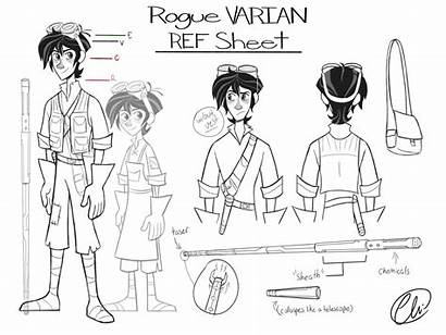 Tangled Varian Series Sheet Reference Rogue Disney