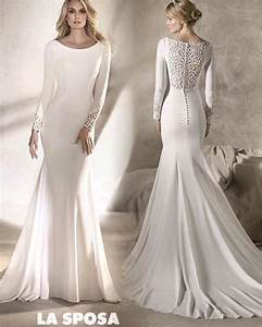 simple white wedding dresses with sleeves great ideas With plain wedding dresses