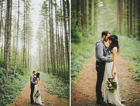 what does elope a romantic elopement in the woods laura nick green wedding shoes weddings fashion