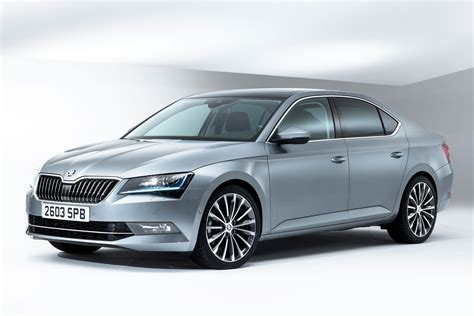 2015 Skoda Superb saloon and estate official pictures ...