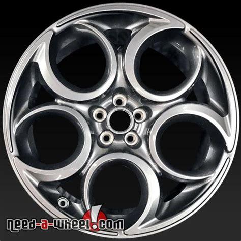 Alfa Romeo Wheels by 19x8 5 Quot Alfa Romeo 4c Oem Wheels 2015 2017 Gray Rims 58158