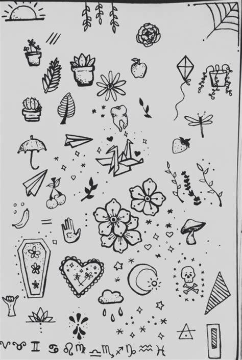 Stick N Poke Tattoo Sheet - Best Tattoo Ideas