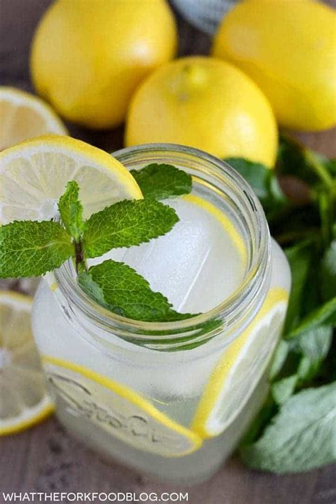 easy vodka lemonade what the fork