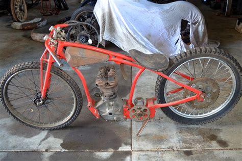 C1930 Dirt Track Rudge Racing Motorcycle