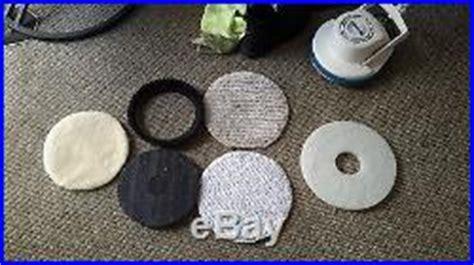 Oreck Floor Scrubber Pads by Oreck Orbiter Multi Purpose Floor Buffer Polisher Carpet