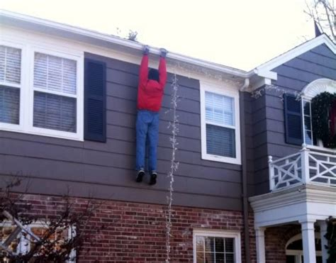 hanging decorations inside and outside your home