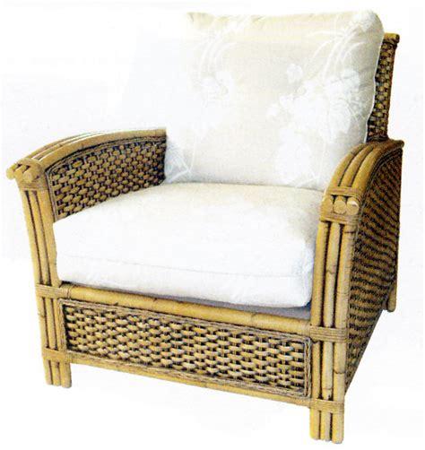 kursi rotan klasik single arm chair rumah idaman kita