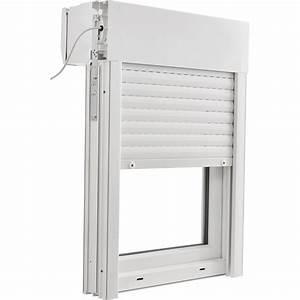 Porte fenetre pvc avec volet roulant brico essentiel h for Comment poser porte fenetre pvc