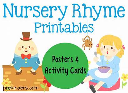 Nursery Rhymes Rhyme Activities Printables Preschool Prekinders