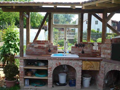 Grill Dach Selber Bauen by Au 223 Enk 252 Che Garten Garten K 252 Che Outdoor K 252 Che Und