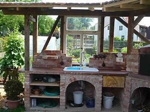 Aussenkuche garten pinterest aussenkuche garten und for Katzennetz balkon mit mr gardener gartenhäuser