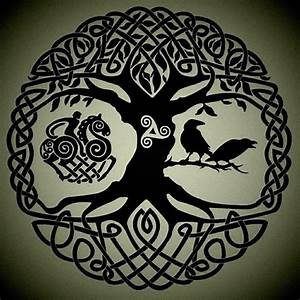 This would make a great tattoo.... Yggdrasil, the world ...