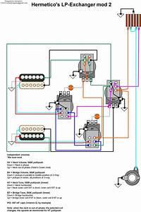 Hermetico Guitar  Wiring Diagram  Hermetico U0026 39 S Lp Exchanger