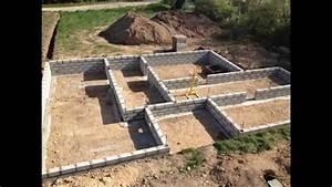 etapes de construction d39un maison rt 2012 en brique youtube With cout de construction d une maison